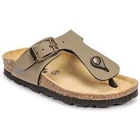 Schuhe Jungen Pantoffel Citrouille et Compagnie OKOKO Kaki