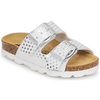 Schuhe Mädchen Pantoffel Citrouille et Compagnie MISTINGUETTE Weiss