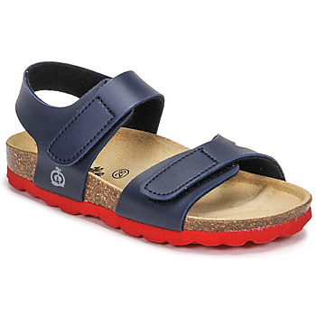 Schuhe Jungen Sandalen / Sandaletten Citrouille et Compagnie BELLI JOE Marine / Rot