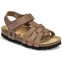 Schuhe Jungen Sandalen / Sandaletten Citrouille et Compagnie JANISOL Braun / Maulwurf