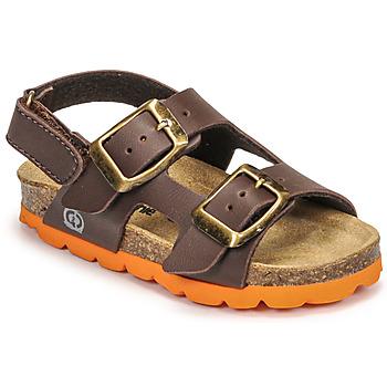 Schuhe Jungen Sandalen / Sandaletten Citrouille et Compagnie KELATU Braun