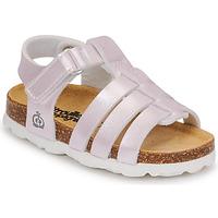 Schuhe Mädchen Sandalen / Sandaletten Citrouille et Compagnie MALIA Champagne