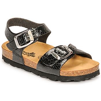 Schuhe Mädchen Sandalen / Sandaletten Citrouille et Compagnie RELUNE Schwarz