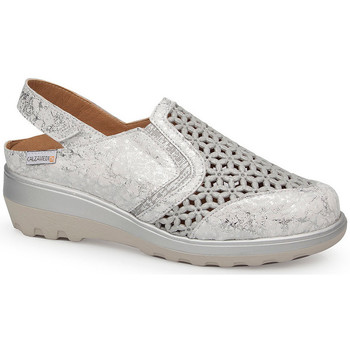 Schuhe Damen Sandalen / Sandaletten Calzamedi SANDAL  0728 WHITE