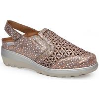 Schuhe Damen Sandalen / Sandaletten Calzamedi SANDAL  0728 BRONZE