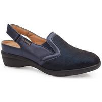 Schuhe Damen Pantoletten / Clogs Calzamedi JUANETES ELASTICA SANDALEN BLUE