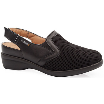Schuhe Damen Pantoletten / Clogs Calzamedi JUANETES ELASTICA SANDALEN SCHWARZ