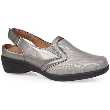 Schuhe Damen Pantoletten / Clogs Calzamedi JUANETES ELASTICA SANDALEN SILBER