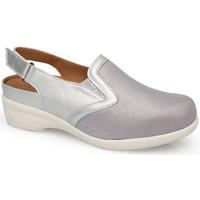 Schuhe Damen Pantoletten / Clogs Calzamedi JUANETES ELASTICA SANDALEN PLATIN