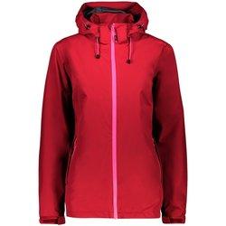Kleidung Damen Windjacken Cmp Sport ZIP HOOD Goji 30X9766 H807 rot