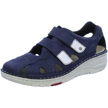 Schuhe Damen Sandalen / Sandaletten Berkemann Sandaletten Larena 03100-353 blau