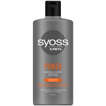 Beauty Herren Shampoo Syoss Men Champú Power & Strength  440 ml