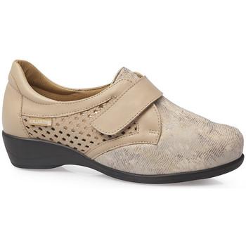Schuhe Damen Derby-Schuhe & Richelieu Calzamedi ELASTISCHE SOCKEN SCHUHE 0685 BEIGE