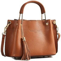 Taschen Damen Handtasche Christian Laurier LAMY camel