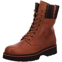 Schuhe Damen Low Boots Macakitzbühel Stiefeletten 2722 braun