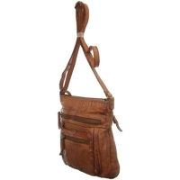Taschen Damen Umhängetaschen Bear Design Mode Accessoires CL 40496 COGNAC braun