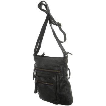 Taschen Damen Umhängetaschen Bear Design Mode Accessoires CL 40496 ZWART schwarz