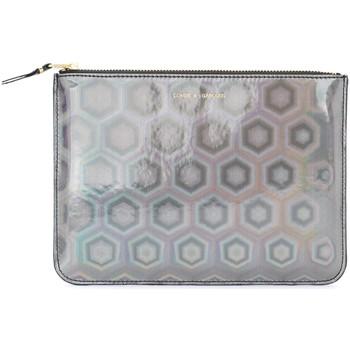 Taschen Geldtasche / Handtasche Comme Des Garcons Comme Des Garçons großes Etui Wallet Black Rainbow Schwarz