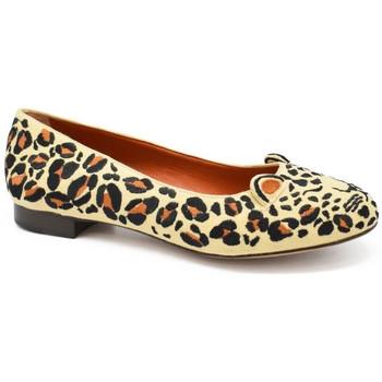 Schuhe Damen Ballerinas Charlotte Olympia  Beige