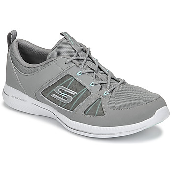 Schuhe Damen Fitness / Training Skechers CITY PRO - WITHOUT A CARE Grau