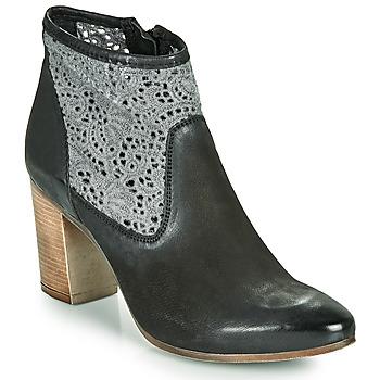 Schuhe Damen Low Boots JB Martin DENTEL Schwarz