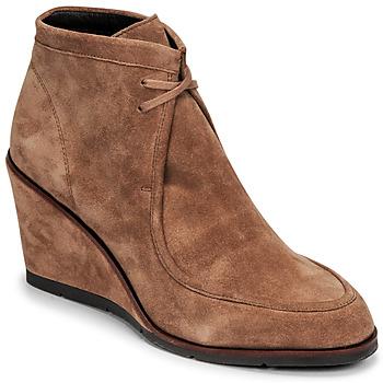 Schuhe Damen Low Boots JB Martin KINDAR Braun