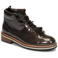Schuhe Damen Boots JB Martin BRILLE H19 Braun
