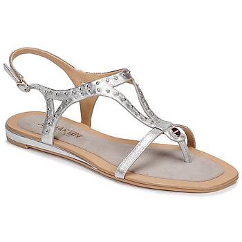 Schuhe Damen Sandalen / Sandaletten JB Martin ALANIS Silbern