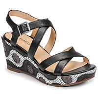 Schuhe Damen Sandalen / Sandaletten JB Martin DARELO E19 Schwarz