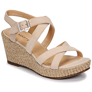 Schuhe Damen Sandalen / Sandaletten JB Martin DARELO E19 Beige