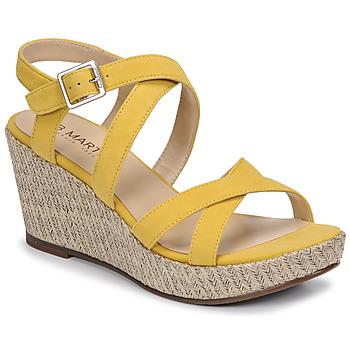 Schuhe Damen Sandalen / Sandaletten JB Martin DARELO E19 Gelb