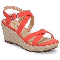 Schuhe Damen Sandalen / Sandaletten JB Martin DARELO E19 Rose