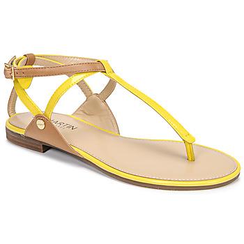 Schuhe Damen Sandalen / Sandaletten JB Martin GENIE Gelb