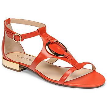 Schuhe Damen Sandalen / Sandaletten JB Martin BOCCIA Orange