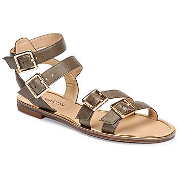 Schuhe Damen Sandalen / Sandaletten JB Martin GAPI E20 Kaki