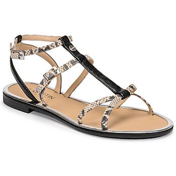 Schuhe Damen Sandalen / Sandaletten JB Martin GRIOTTES E20 Weiss