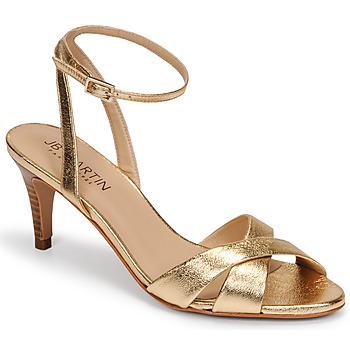 Schuhe Damen Sandalen / Sandaletten JB Martin POETIE Gold