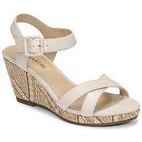 Schuhe Damen Sandalen / Sandaletten JB Martin QUERIDA E20 Beige