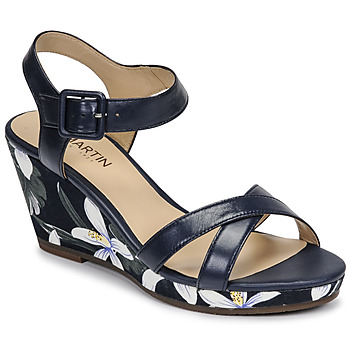 Schuhe Damen Sandalen / Sandaletten JB Martin QUERIDA E20 Blau