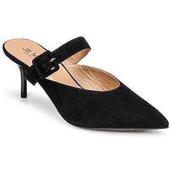 Schuhe Damen Pantoffel JB Martin TORIA Schwarz