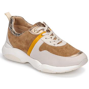 Schuhe Damen Sneaker Low JB Martin WILO Braun