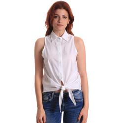 Kleidung Damen Tops / Blusen Fornarina BE174573CA1609 Weiß