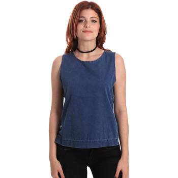 Kleidung Damen Tops / Blusen Fornarina SE175J70D883SK Blau