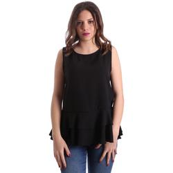 Kleidung Damen Tops / Blusen Gaudi 911FD45048 Schwarz