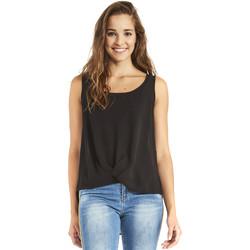 Kleidung Damen Tops / Blusen Gaudi 911BD45001 Schwarz