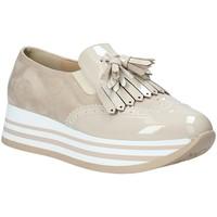 Schuhe Damen Slip on Grace Shoes MAR016 Beige