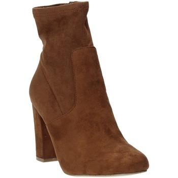 Schuhe Damen Low Boots Steve Madden SMSPATTIE-SBRWN Braun