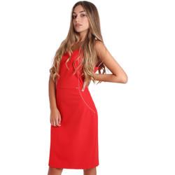 Kleidung Damen Kurze Kleider Fracomina FR20SP645 Rot