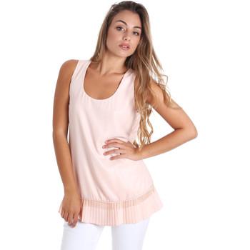 Kleidung Damen Tops / Blusen Fracomina FR20SM014 Rosa