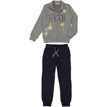 Kleidung Kinder Pyjamas/ Nachthemden Melby 90M0505M Grau